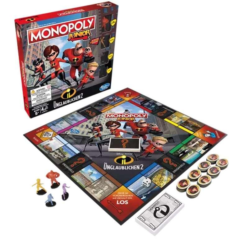 Gesellschaftsspiel: Hasbro Gaming Monopoly Junior Die Unglaublichen 2 für 12,98€ (statt 23€)