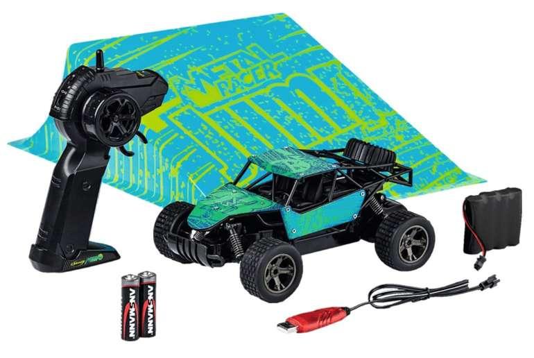 Carson Modellsport Metal Racer Brushed 1:18 RC Modellauto Elektro Buggy mit Rampe (2WD) für 24,99€