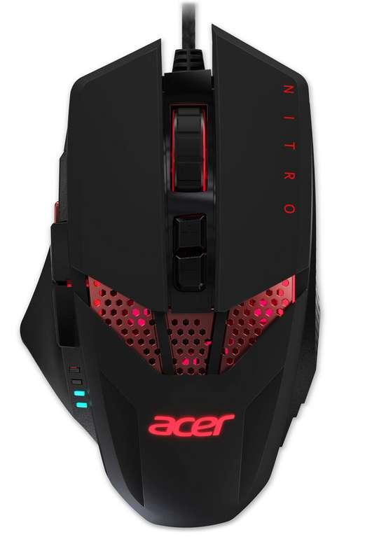 Acer Nitro Gaming Mouse mit 8 Tasten für 21,58€ inkl. Versand (statt 32€)