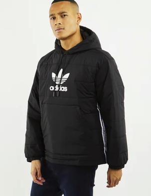 adidas Lightweight Padded Herren Jacke in schwarz für 49,99€inkl. Versand (statt 65€)