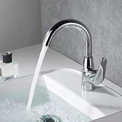 Desfau - 360° drehbare Badezimmer Armatur für 15,99€ (statt 39€)
