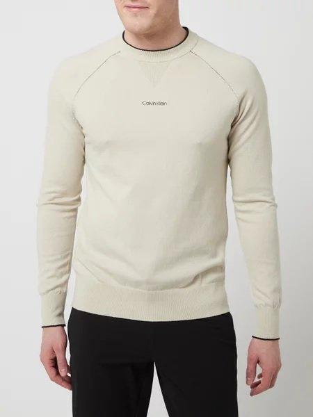 Calvin Klein Pullover mit Kaschmir-Anteil in Beige oder Schwarz für 89,99€ inkl. Versand (statt 100€)