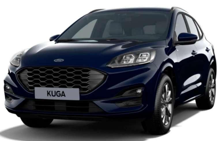Privat- und Gewerbeleasing: Ford Kuga 2.5 Duratec PHEV mit 225 PS für 235€ mtl. (BAFA, LF: 0.59, Überführung: 890€)
