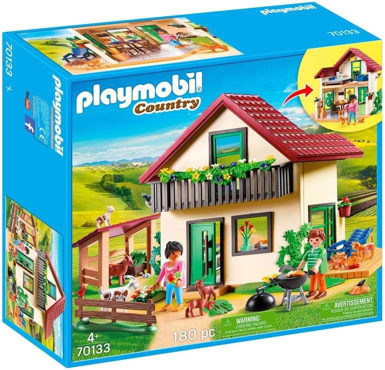 Spiele Max: 20% Extra-Rabatt auf Playmobil, z.B. 70133 Bauernhaus für 27,19€ inkl. Versand