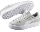 Puma Vikky Platform Damen Sneaker in grau & schwarz für 29,90€ (statt 41€)