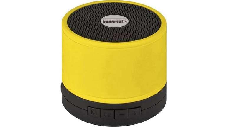Imperial BAS 1 Bluetooth Lautsprecher in gelb für 11,94€ (statt 24€)