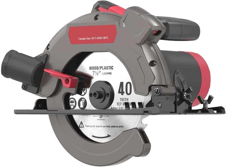 Merterks Handkreissäge (1500W, 5000RPM, max. Schnitttiefe: 65 mm) für 39,99€ inkl. Versand (statt 80€)