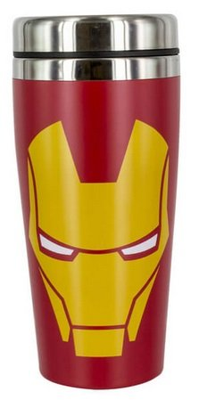 Marvel Iron Man Travel Mug (Thermobecher) für 11,84€ inkl. VSK (statt 18€)