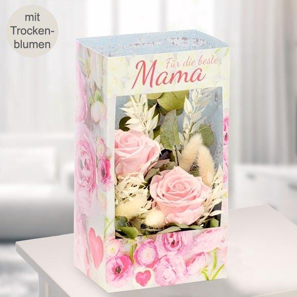 """Blumenfester mit Trockenblumen """"Für die beste Mama"""" für 32,59€ inkl. Versand (statt 38€)"""