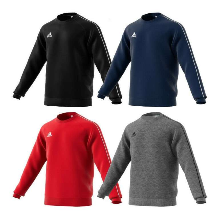 Adidas Performance Core 18 Herren-Sweatshirt für 19,95€ inkl. Versand
