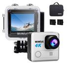 50% Rabatt auf Wimius Action Cams, 4K Wifi Cams ab 29,44€ inkl. Prime Versand