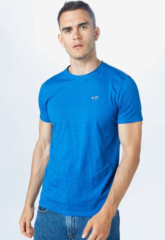 """Hollister Herren Shirt """"Crew"""" in Blau für 7,14€ inkl. Versand (statt 20€)"""
