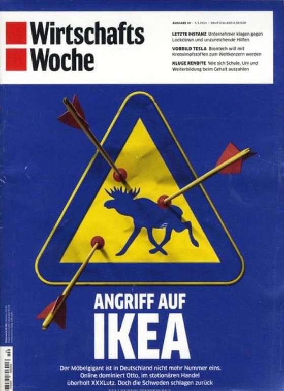 Wirtschafts Woche im Jahresabo für 353,80€ + z.B. 200€ Douglas Gutschein