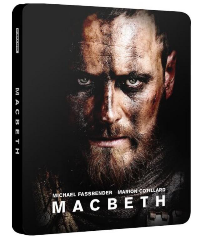MacBeth - Limited Edtion Steelbook (Blu-ray) für 8,24€ (statt 20€)