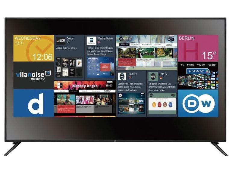 """JTC Galaxis 7.5 - 75"""" Smart TV (UHD 4K, LED) für 728,95€ inkl. VSK"""