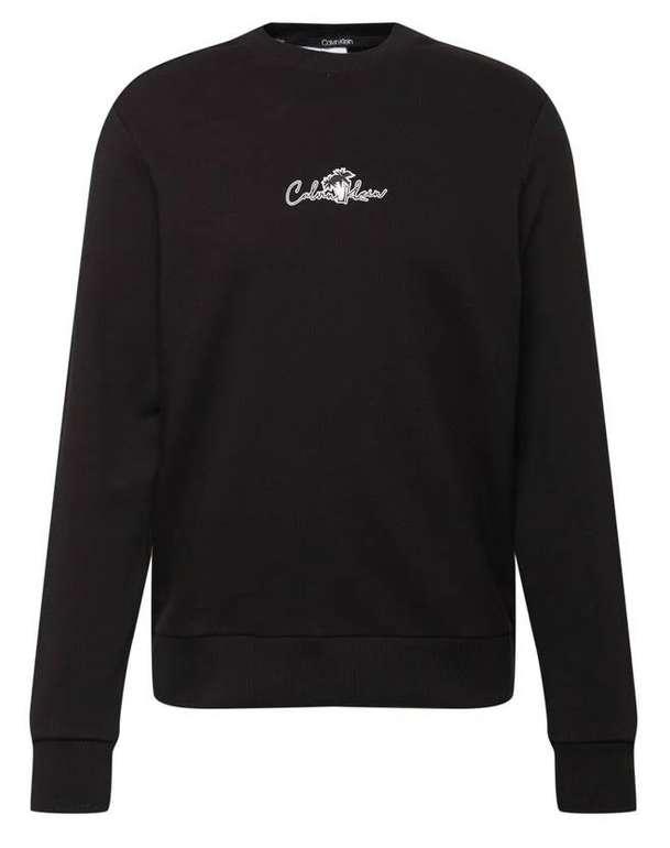 Calvin Klein Sweatshirt in Schwarz für 44,95€ inkl. Versand (statt 63€)