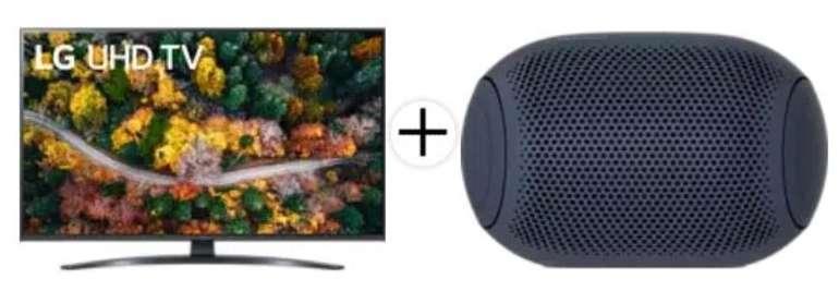 Media Markt & Saturn: LG Spar Star / Best of LG - z.B. 43UP78009LB Smart TV + LG PL2 Xboom Go für 448,90€ (statt 608€)