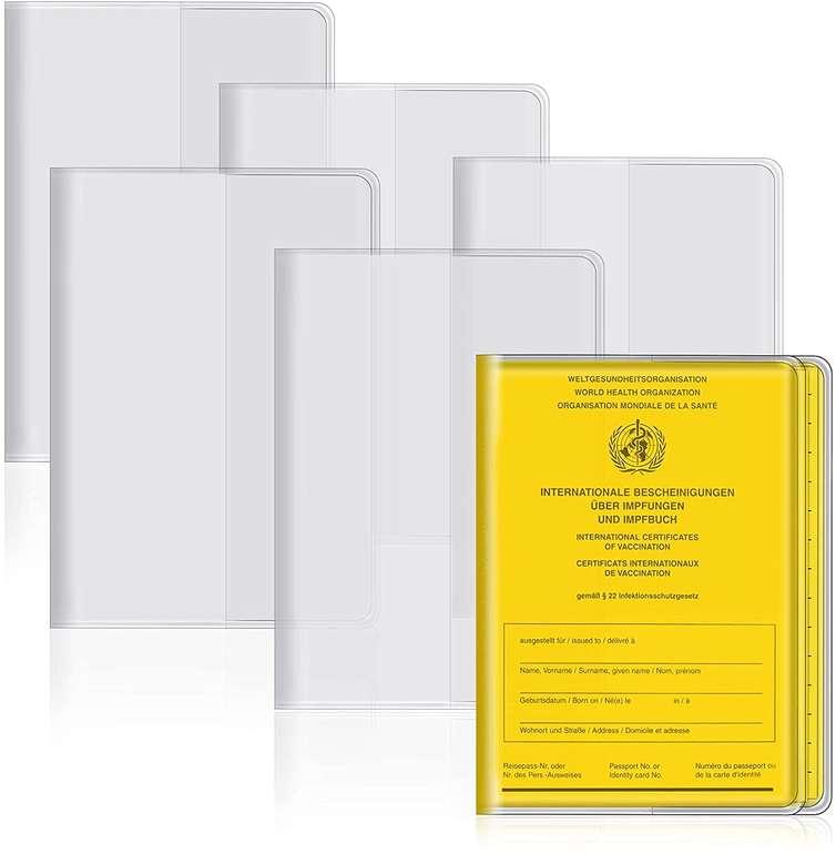 Lebexy 6er Pack Impfpass Schutzhüllen (93 x 130mm) für 2,99€ inkl. Prime Versand (statt 7€)
