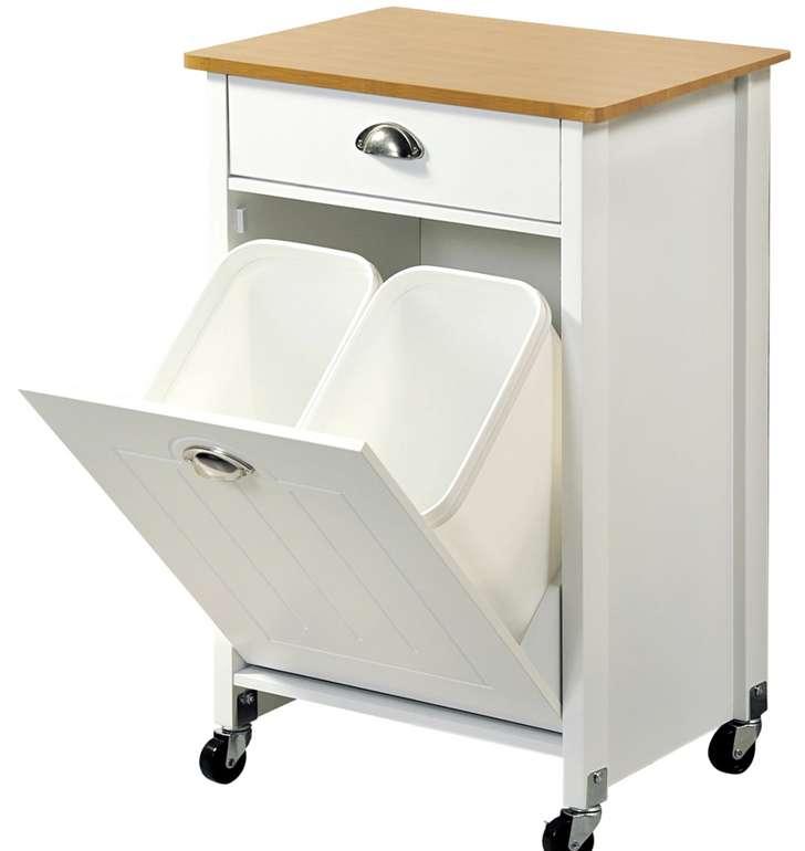 Kesper Küchenwagen mit Abfalleimer für 74,99€ inkl. Versand (statt 85€)