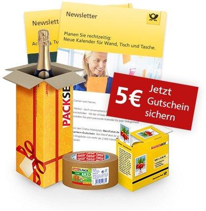 Preisfehler? Deutsche Post eFiliale mit 5€ Rabatt ohne MBW auch auf Pakete etc.