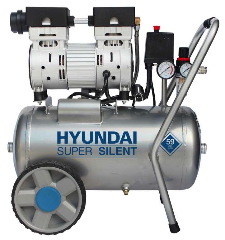 Hyundai Silent Druckluftkompressor SAC55752 mit 8 Bar für 152,10€inkl. Versand (statt 169€)