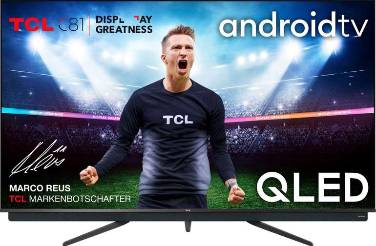 11% auf ausgewählte Multimedia Artikel bei Otto - z.B. TCL 65C815 QLED-Fernseher für 803,22€ inkl. Versand