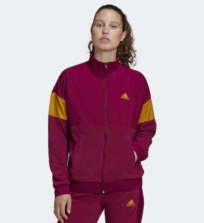 Adidas Damen Trainingsjacke mit Grafikprint für 31,83€ inkl. Versand (statt 57€)