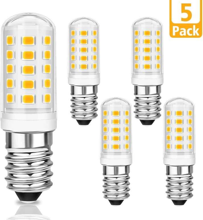 Kingso E14 LED Lampen im 5er Pack (5W, 500 Lumen) für 8,44€ inkl. Prime Versand (statt 13€)
