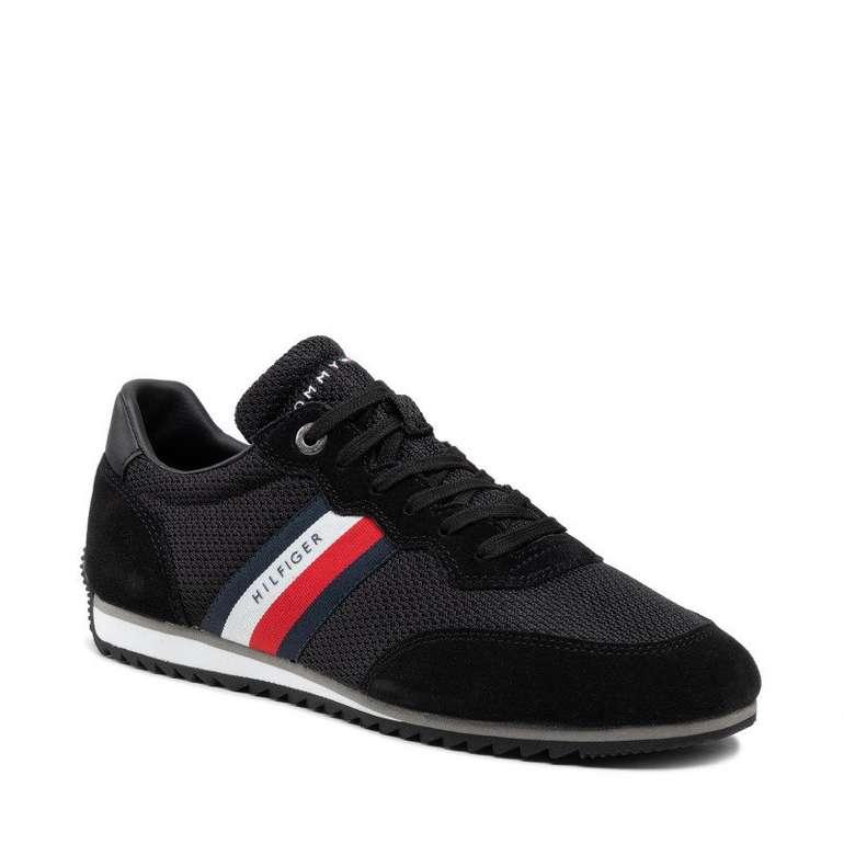 Tommy Hilfiger Sneaker Essential Runner in Schwarz für 59€ inkl. Versand (statt 70€)