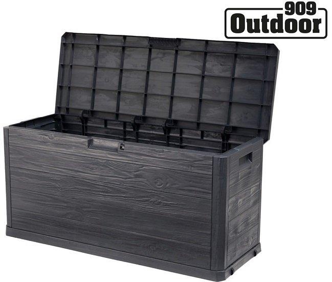 909 Outdoor Aufbewahrungsbox in Holzoptik (280 Liter) für 45,90€ inkl. Versand (statt 65€)