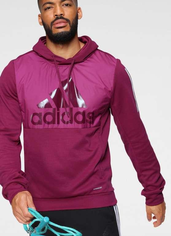 adidas Performance Kapuzensweatshirt für Herren in rot für 35,85€inkl. Versand (statt 44€)