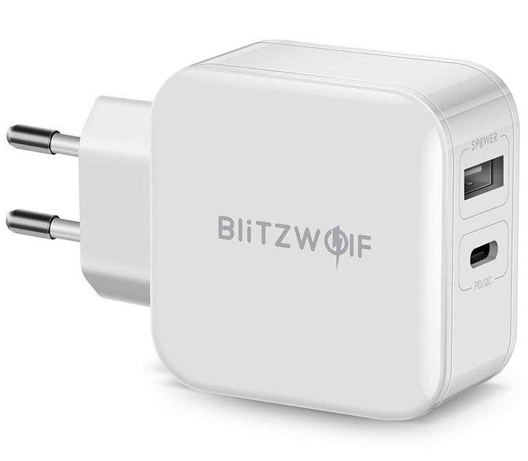 BlitzWolf USB-C Ladegerät mit Power Delivery für 11,04€ inkl. VSK (statt 15€)