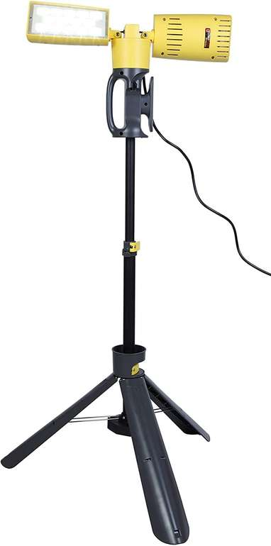 Lutec Peri LED-Stativstrahler (2 x 35W, Kunststoff, 74.8 x 136cm, A+) für 54,89€ inkl. Versand (statt 91€)