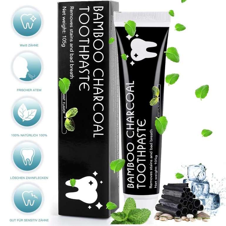 MayBeau Aktivkohle Zahnpasta mit Zahnaufhellung für 4,99€ inkl. VSK - Prime!