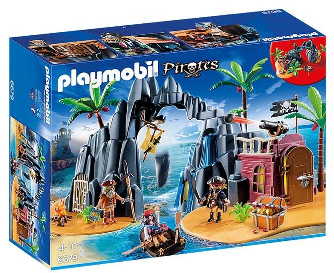 Playmobil 6679 Piraten-Schatzinsel für 18,74€ inkl. VSK (statt 46€)
