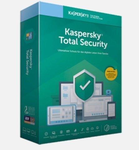Gratis: 6 Monate Kaspersky Total Security - iOS, Android, Windows & Mac (statt 12€)
