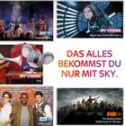 Verschiedene Sky-Abonnements (12 Monate) ab 16,99€ mtl. + 50€ Gutschrift