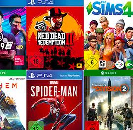 Media Markt: 3 Spiele kaufen + 2 Spiele gratis (gilt auf alle Games !!!)