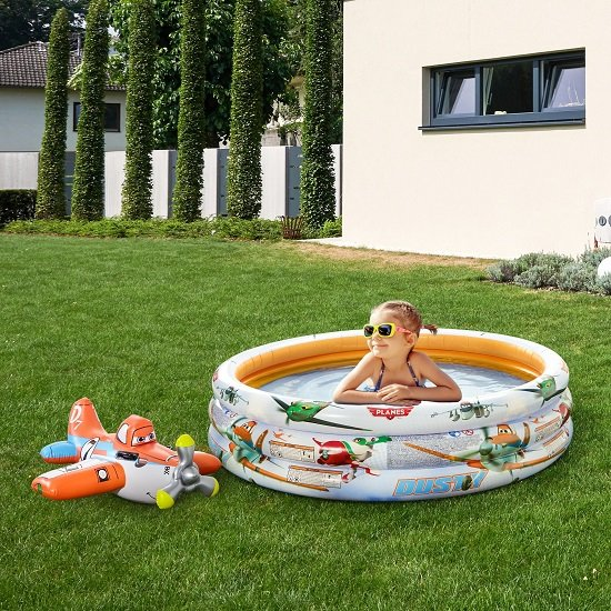 Intex Kinderschwimmbecken + Flugzeug Schwimmhilfe für 18,67€ inkl. Versand