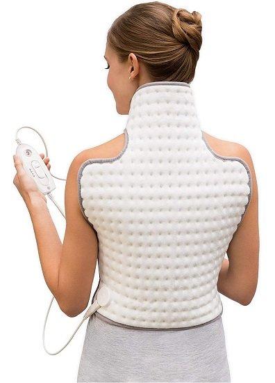 Sanitas SHK 32 Rücken- und Nacken-Heizkissen für 22,94€ (statt 39,42€)
