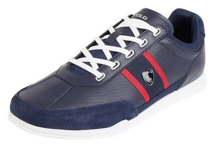 Polo Ralph Lauren Herren Sneaker aus Leder in Dunkelblau für 101,99€ inkl. Versand (statt 120€)
