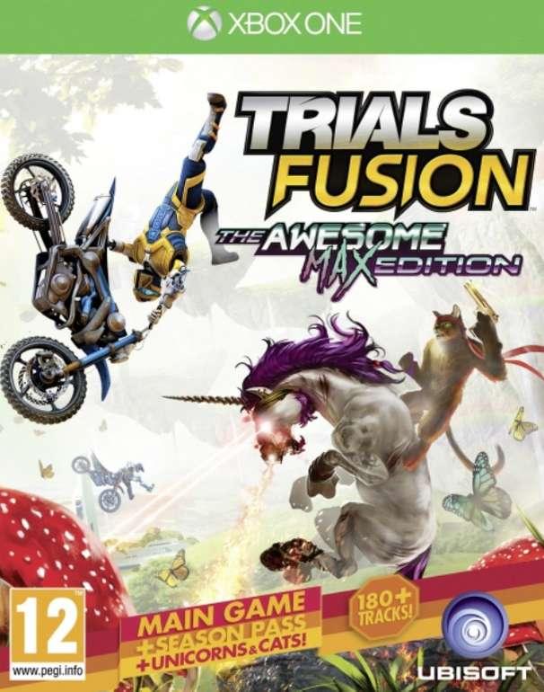Kostenloser Versand bei Shop4DE z.B Trials Fusion The Awesome Max Edition (XBOX One) für 9,99€