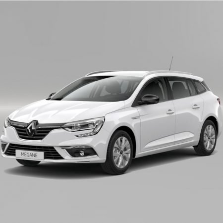 Gewerbe: Renault Megane Grandtour TCe 140 mit TÜV+Lieferung für 58€ mtl.