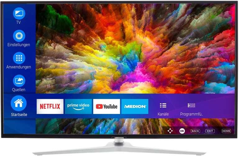 Medion LIFE X14330 - 43 Zoll UHD 4K Smart-TV für 282,94€ (statt 330€)