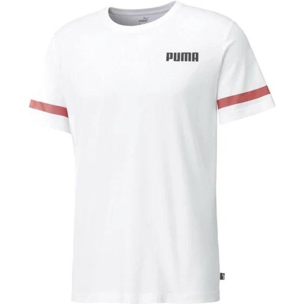 Puma Herren T-Shirt in weiß für 16,20€ inkl. Versand (statt 23€)