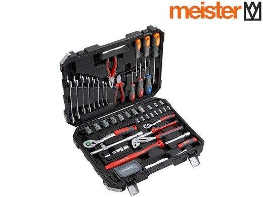 76-teiliger Meister Werkzeugkoffer für 55,90€ inkl. Versand (statt 89,99€)