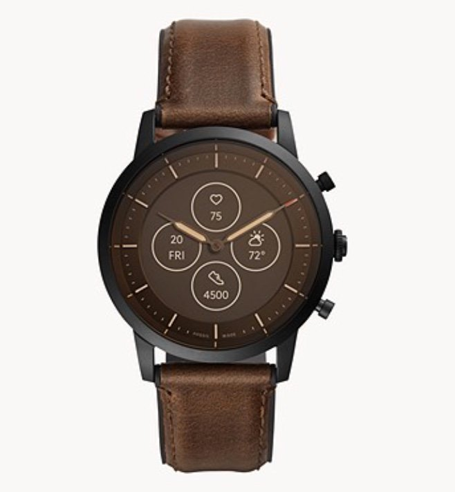Fossil: 30% Rabatt auf Smartwatches + 15% Newsletter Gutschein - z.B. Hybrid Smartwatch Collider HR für 118,15€
