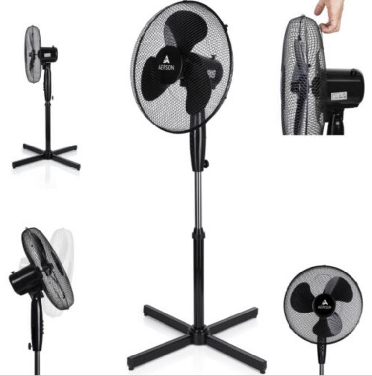 Aerson Standventilator mit 50 Watt für 26,99€ inkl. Versand (statt 32€)