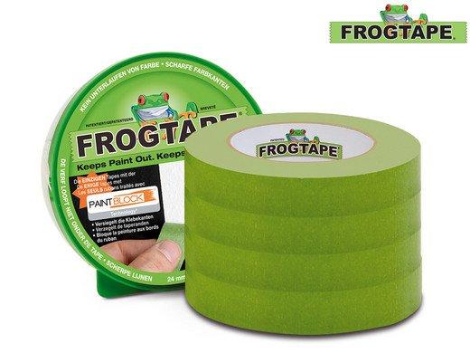 4er Pack FrogTape Malerabdeckband (41,1 m x 24 mm) für 28,90€ inkl. Versand (Vergleich: 32€)