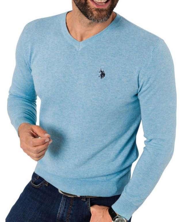 U.S. Polo Assn. Herren Baumwoll-Pullover für 25,54€ inkl. Versand (statt 35€)
